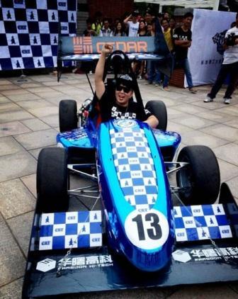 杜海涛F1赛车