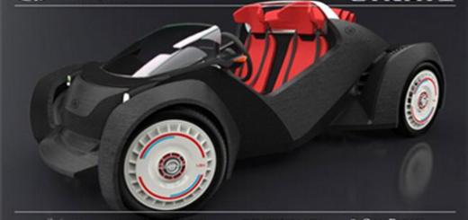 3D打印完整汽车banner