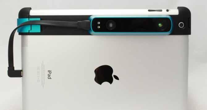 Structure-Sensor-Capteur-3D-iPad