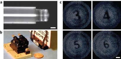 德国利用纳米3D打印技术制作出微型透镜系统
