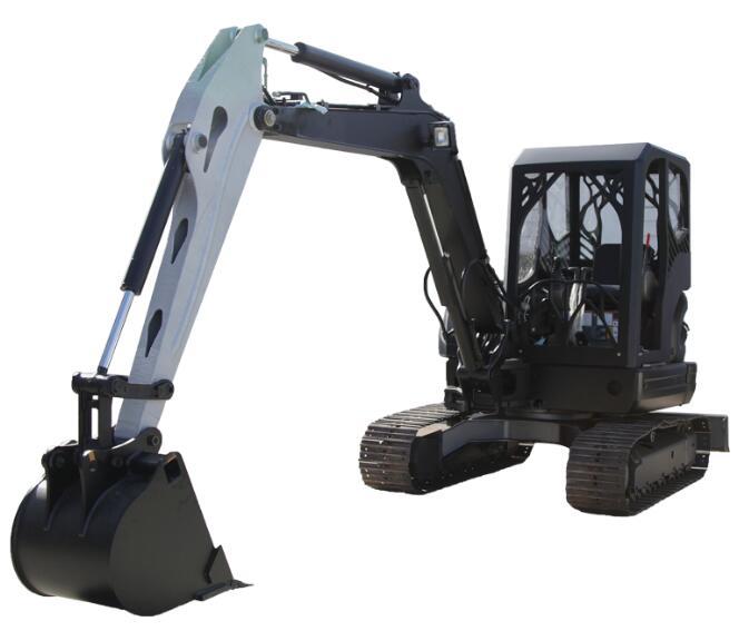 3d printed excavator