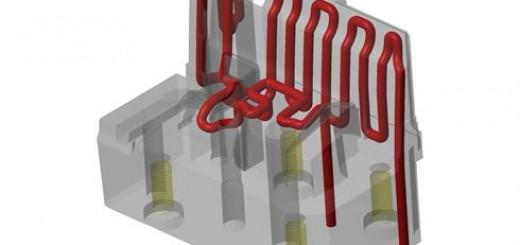 金属3D打印钢制模芯