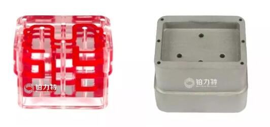案例 l 实现复杂的冷却流道,铂力特3D打印随形冷却模具