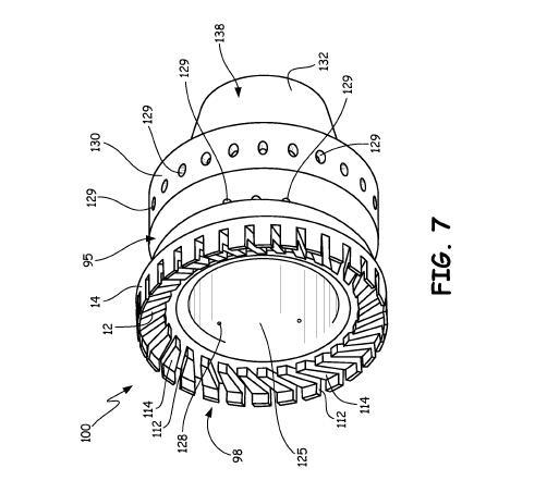 谷研究 l 美国联合技术通过3D打印开发带中空壁热屏蔽结构的燃料喷射器