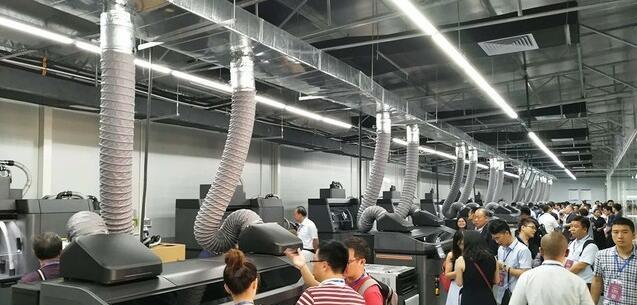 10台惠普MultiJetFusion3D打印系统,兰湾-惠普3D打印定制中心成立