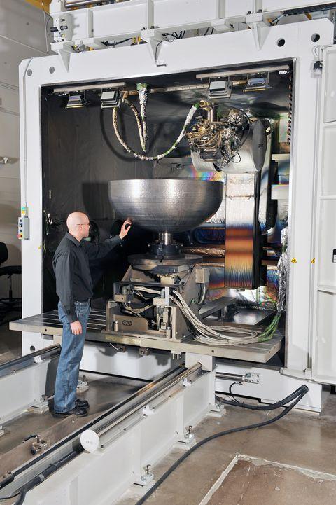 洛克希德·马丁3D打印最大航空航天零件