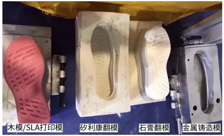 鞋模上的3D扫描