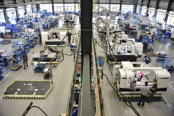 Studer assembly line