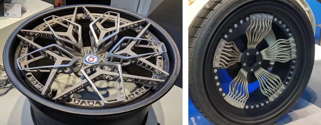 轮毂制造商与GE合作通过电子束熔融3D打印制造钛合金汽车轮毂