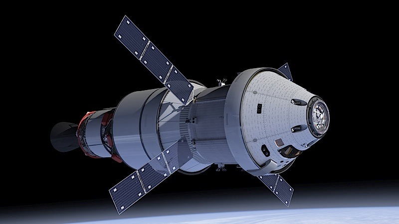 NASA Orion space capsule