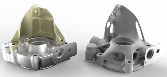 bugatti front axel differential