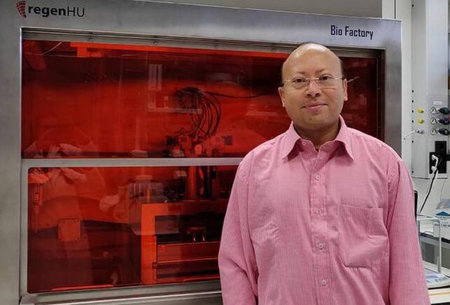 3D bioprinted human skin