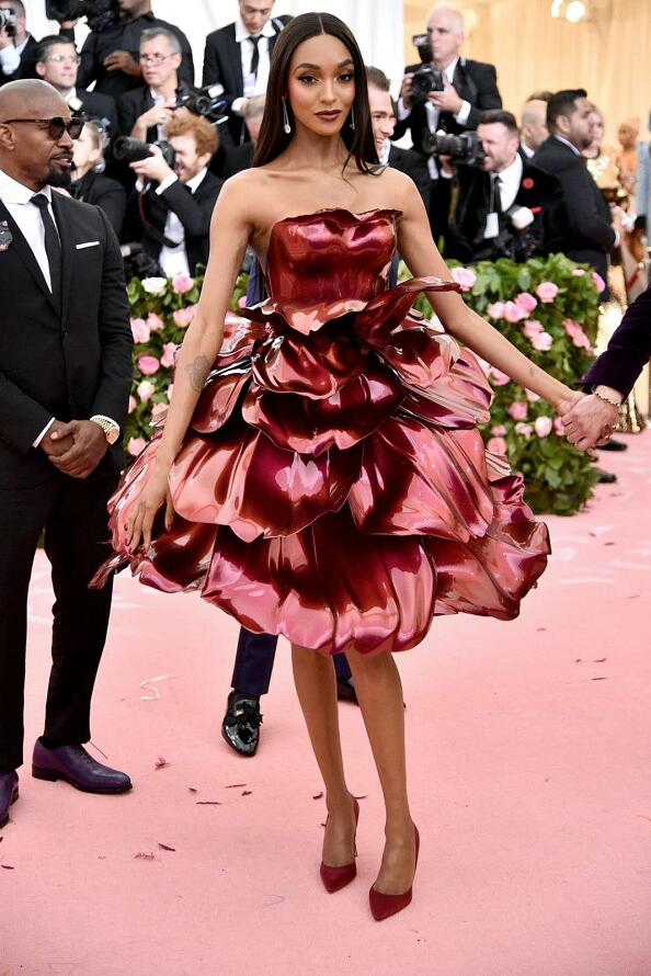 Fashion_Rose gown _Jourdan Dunn